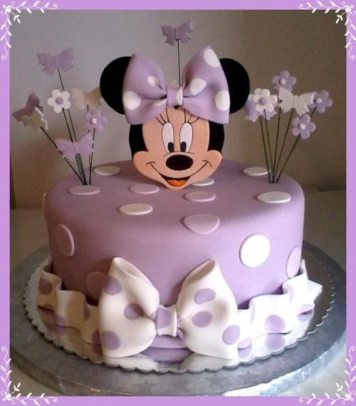Foto della torta di Minnie n. 41