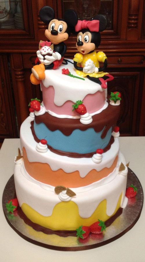 Foto della torta di Minnie n. 42