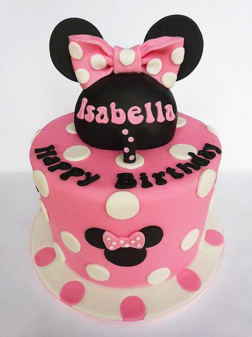 Foto della torta di Minnie n. 43