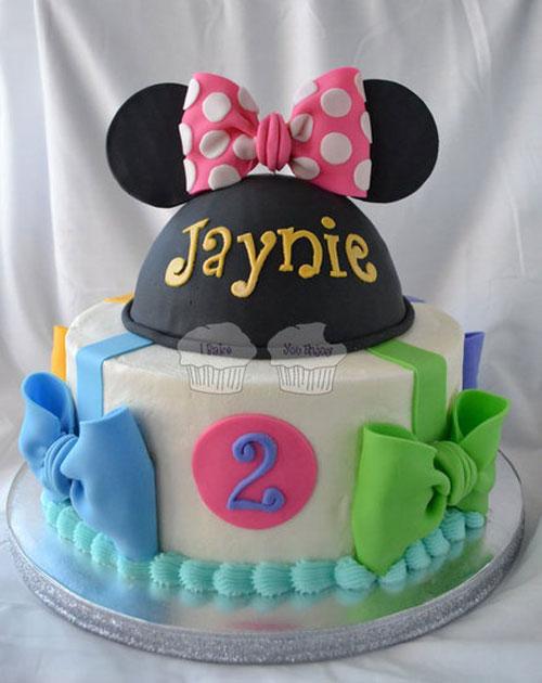 Foto della torta di Minnie n. 44