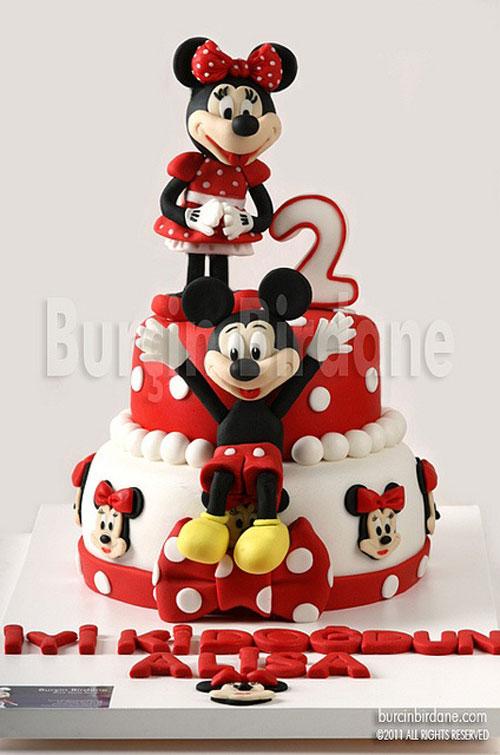 Foto della torta di Minnie n. 46