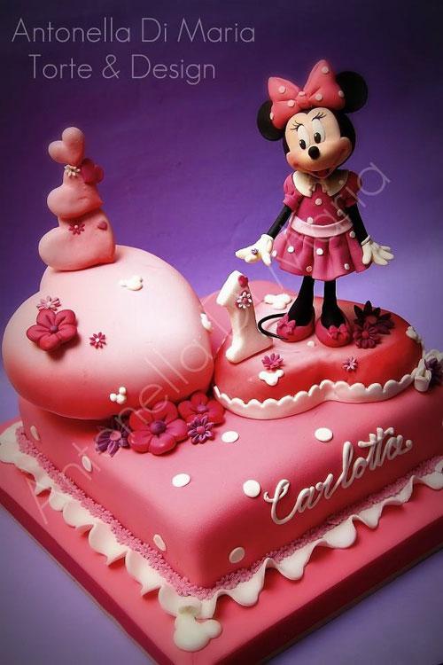 Foto della torta di Minnie n. 47