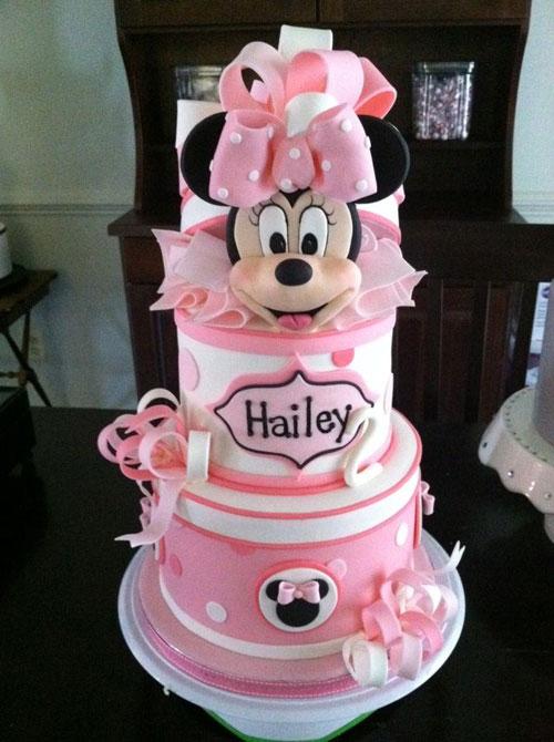 Foto della torta di Minnie n. 48