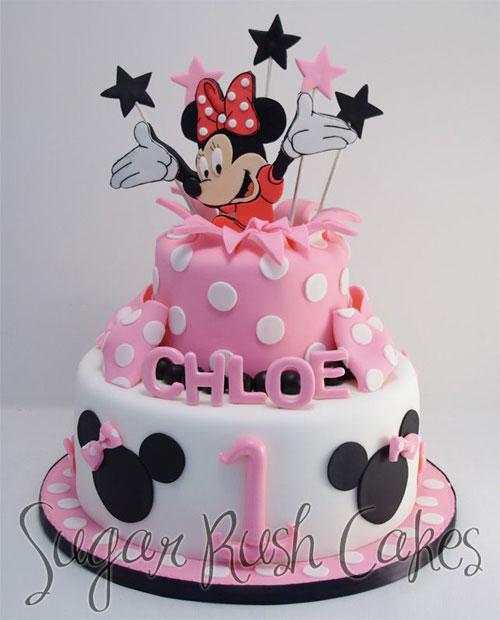 Foto della torta di Minnie n. 50