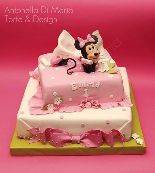 Foto della torta di Minnie n. 51
