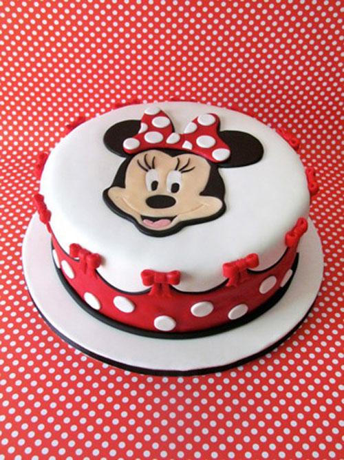 Foto della torta di Minnie n. 52