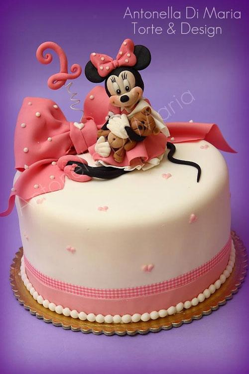 Foto della torta di Minnie n. 53