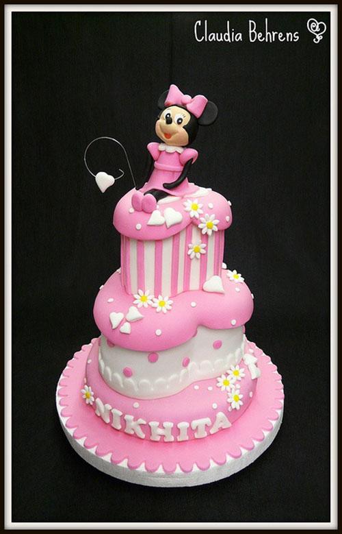 Foto della torta di Minnie n. 54