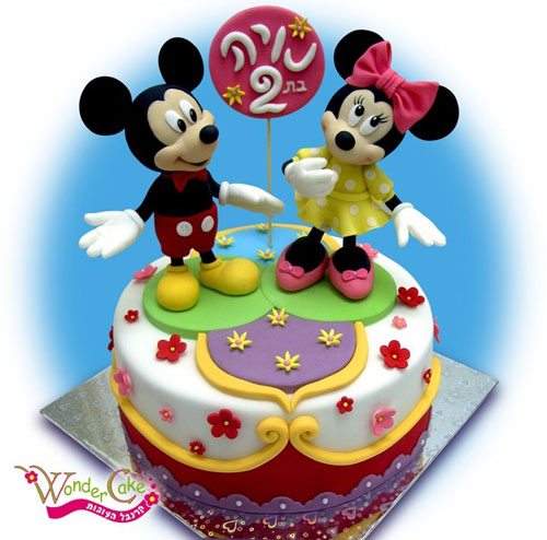 Foto della torta di Minnie n. 56