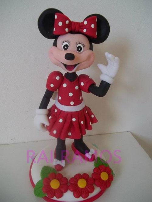 Foto della torta di Minnie n. 57