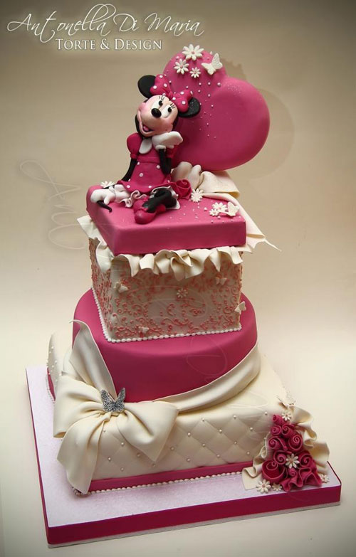 Favoloso 70 Torte di Minnie per Compleanni di Bambine | PianetaBambini.it WC22