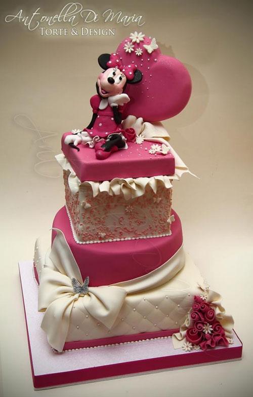 Foto della torta di Minnie n. 58