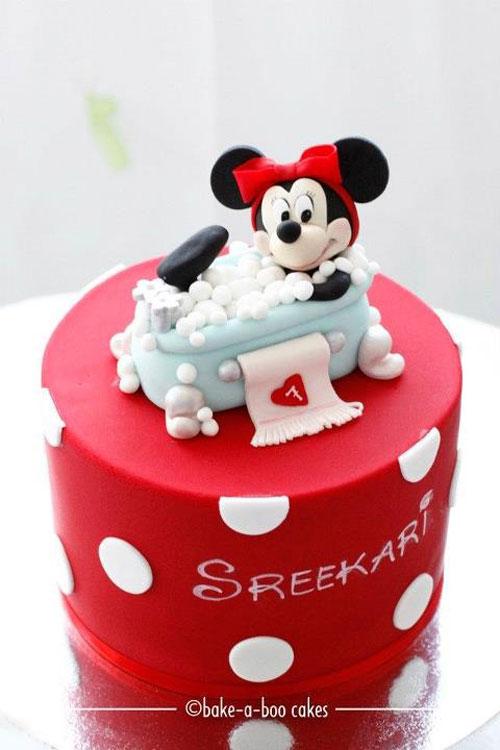 Foto della torta di Minnie n. 60