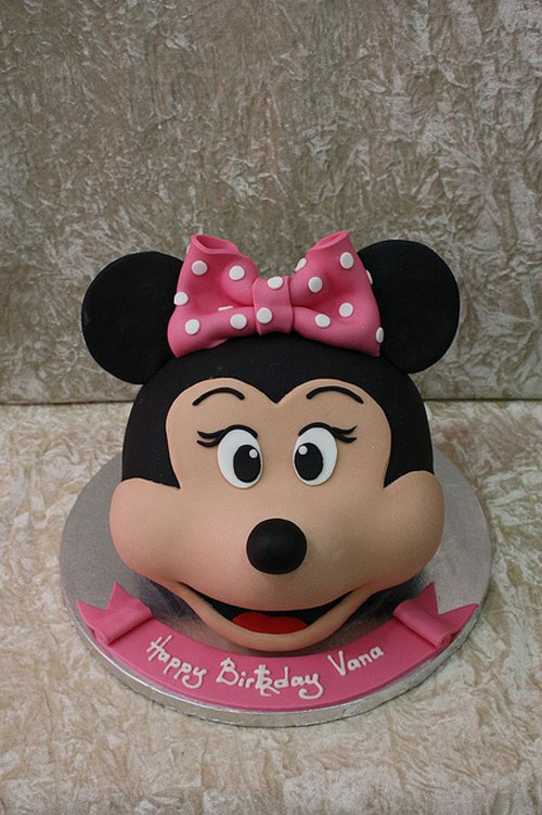 Foto della torta di Minnie n. 62