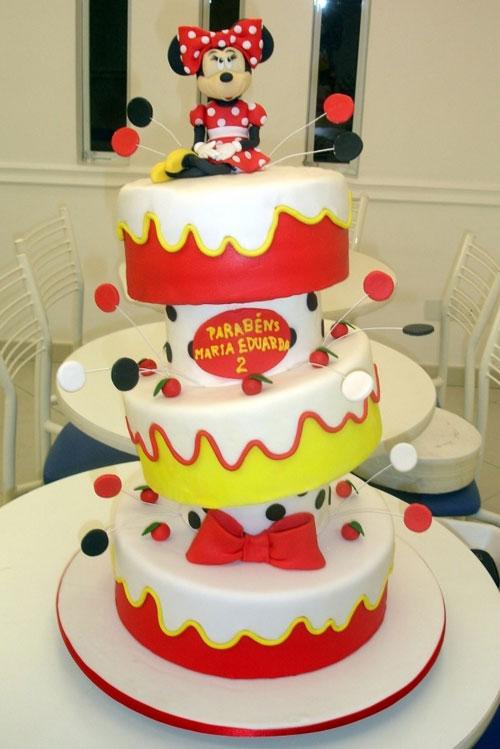 Foto della torta di Minnie n. 63