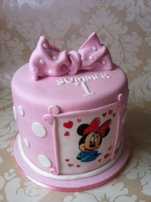 Foto della torta di Minnie n. 64