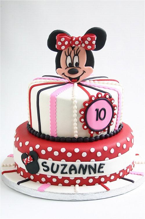 Foto della torta di Minnie n. 65