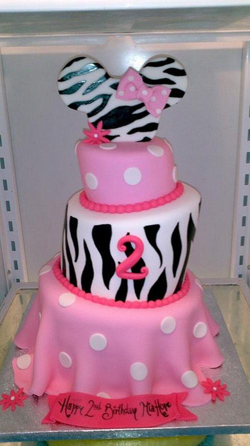 Foto della torta di Minnie n. 69