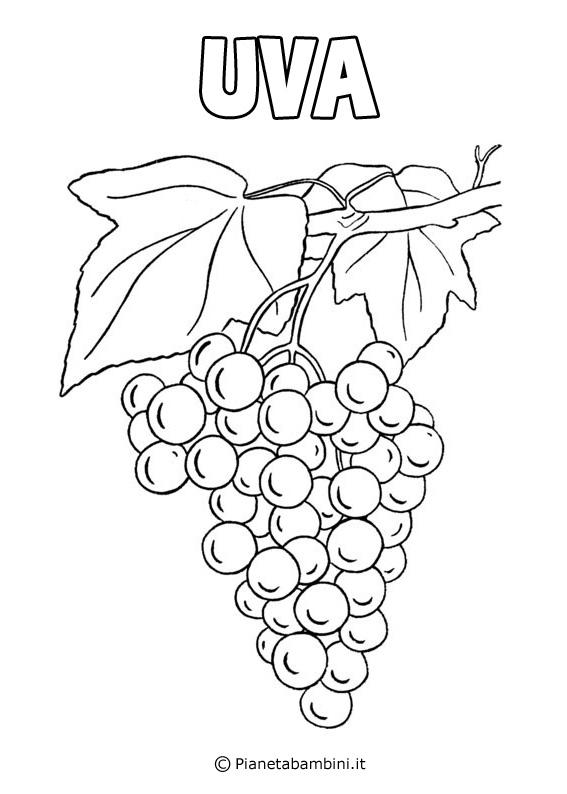 Disegni di Frutta da Stampare e
