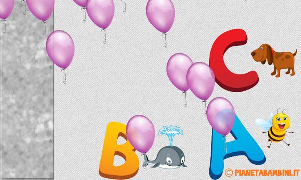 Immagine dell'app alfabeto italiano per bambini