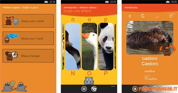 Immagine dell'app per bambini Animalandia