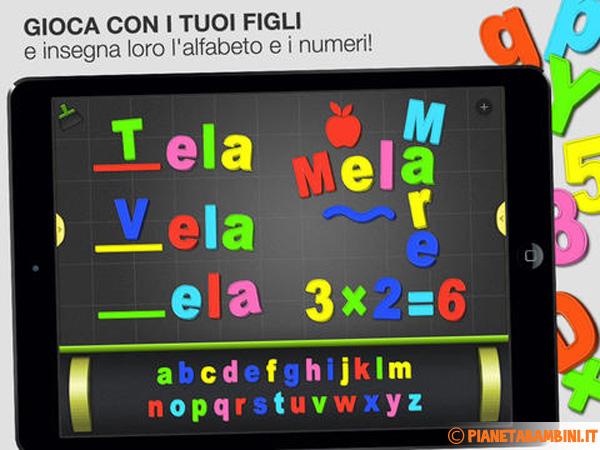 Immagine dell'app iOS Alfabeto Magnetico