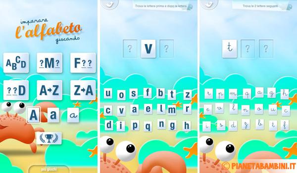 Immagine dell'app iOS Impara l'Alfabeto Giocando