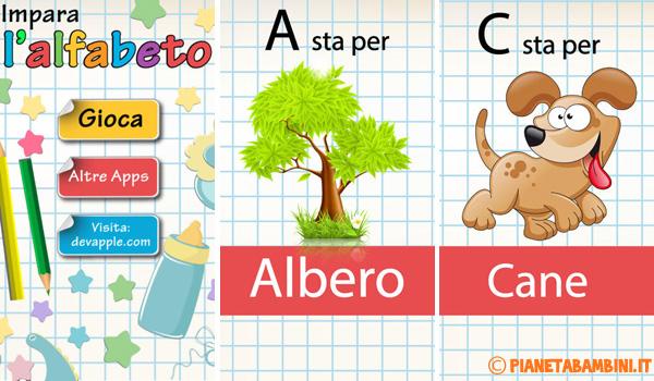 Immagine dell'app iOS Impara l'alfabeto