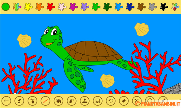 Immagine dell'app Paint 4 Kids