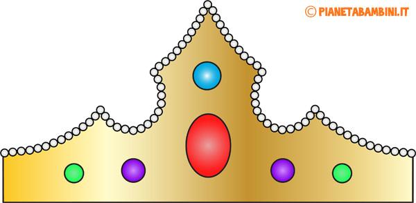 Immagine della corona di carta da principessa n.1