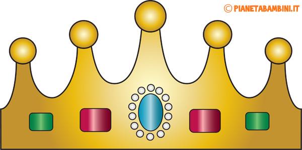 Immagine della corona di carta da principessa n.2