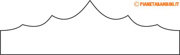 Immagine della corona di carta da principessa semplice n.3
