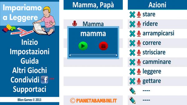 Immagine dell'app per bambini Impariamo a leggere