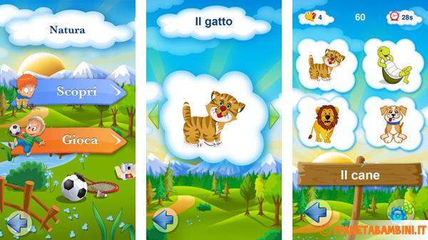 Immagine dell'app ios Italiano per bambini