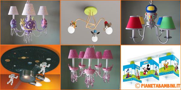 Foto di lampadari per camerette molto originali