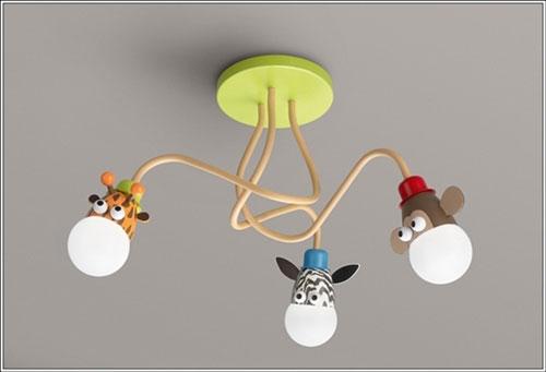 Plafoniere Camerette Bambini : Fantastici lampadari per camerette di bambini pianetabambini