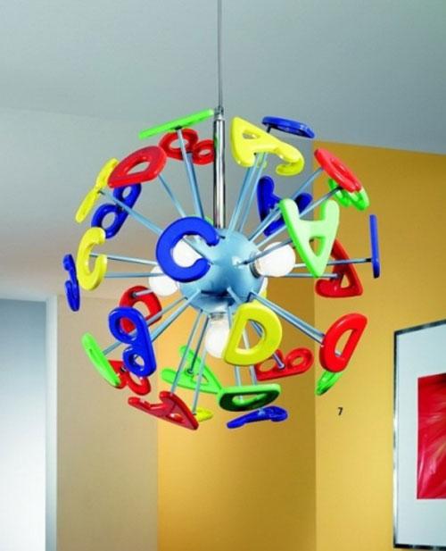 50 fantastici lampadari per camerette di bambini