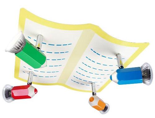 Foto del lampadario per camerette di bambini n.47