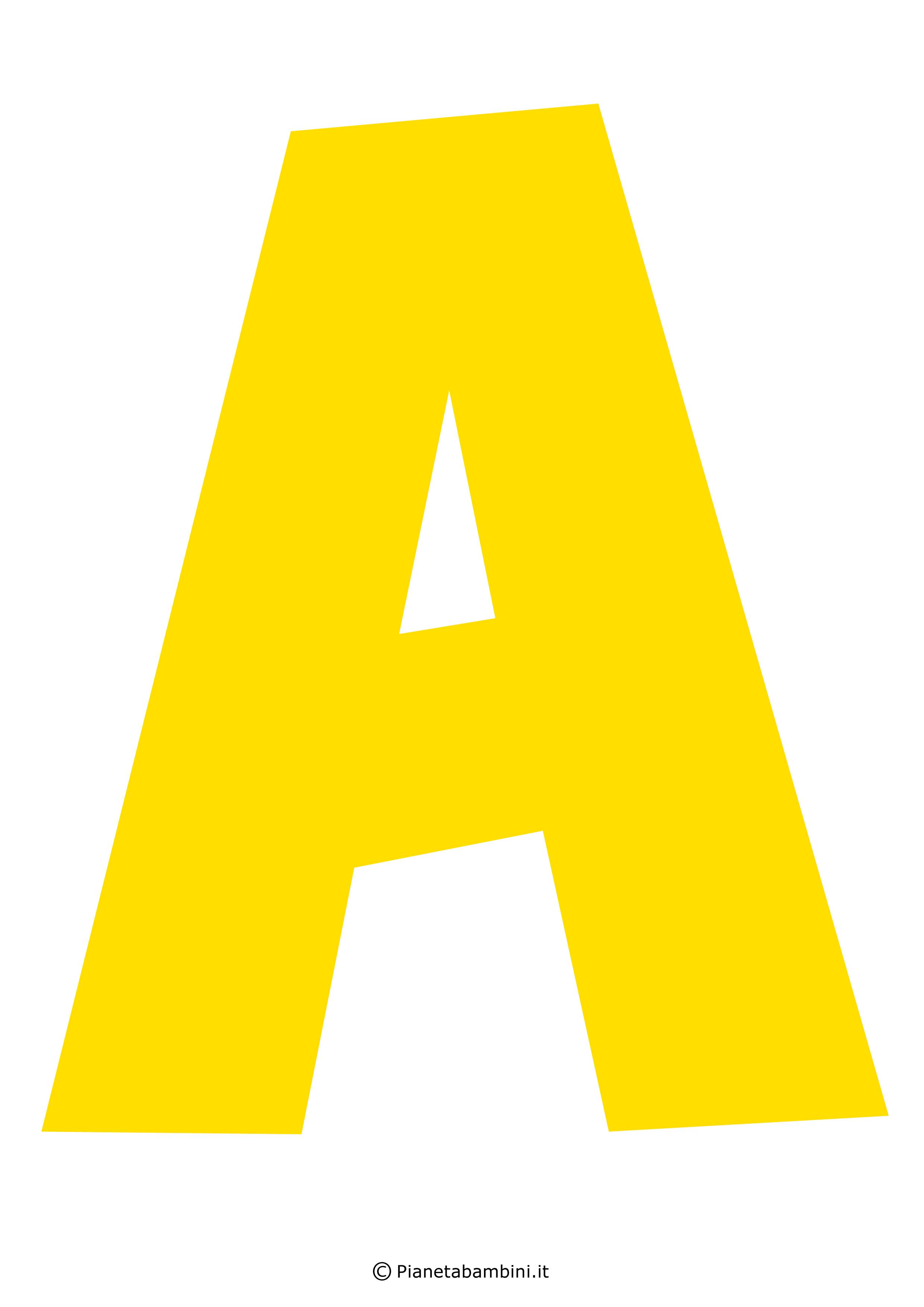 Lettera-A-Gialla