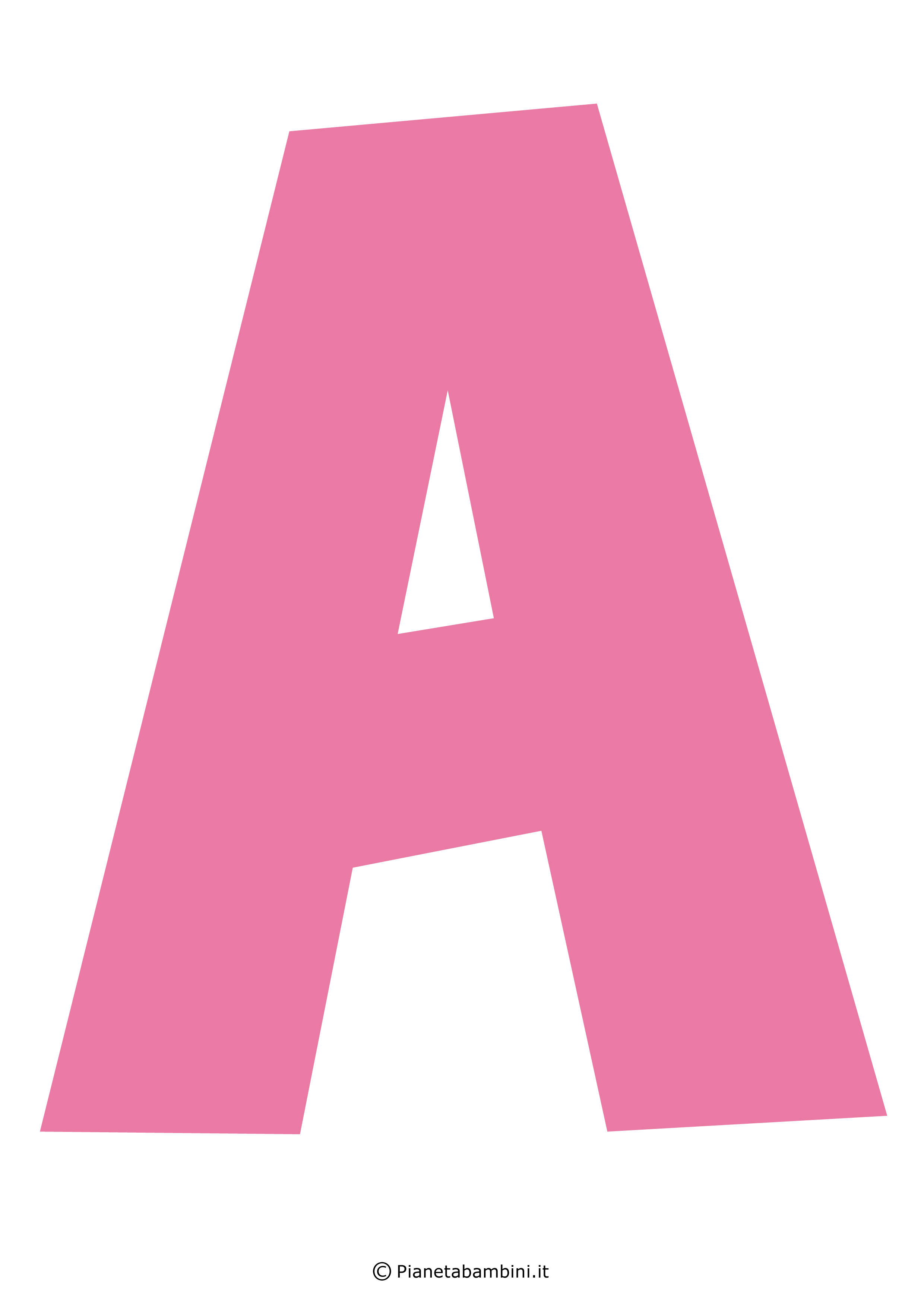 Lettera-A-Rosa