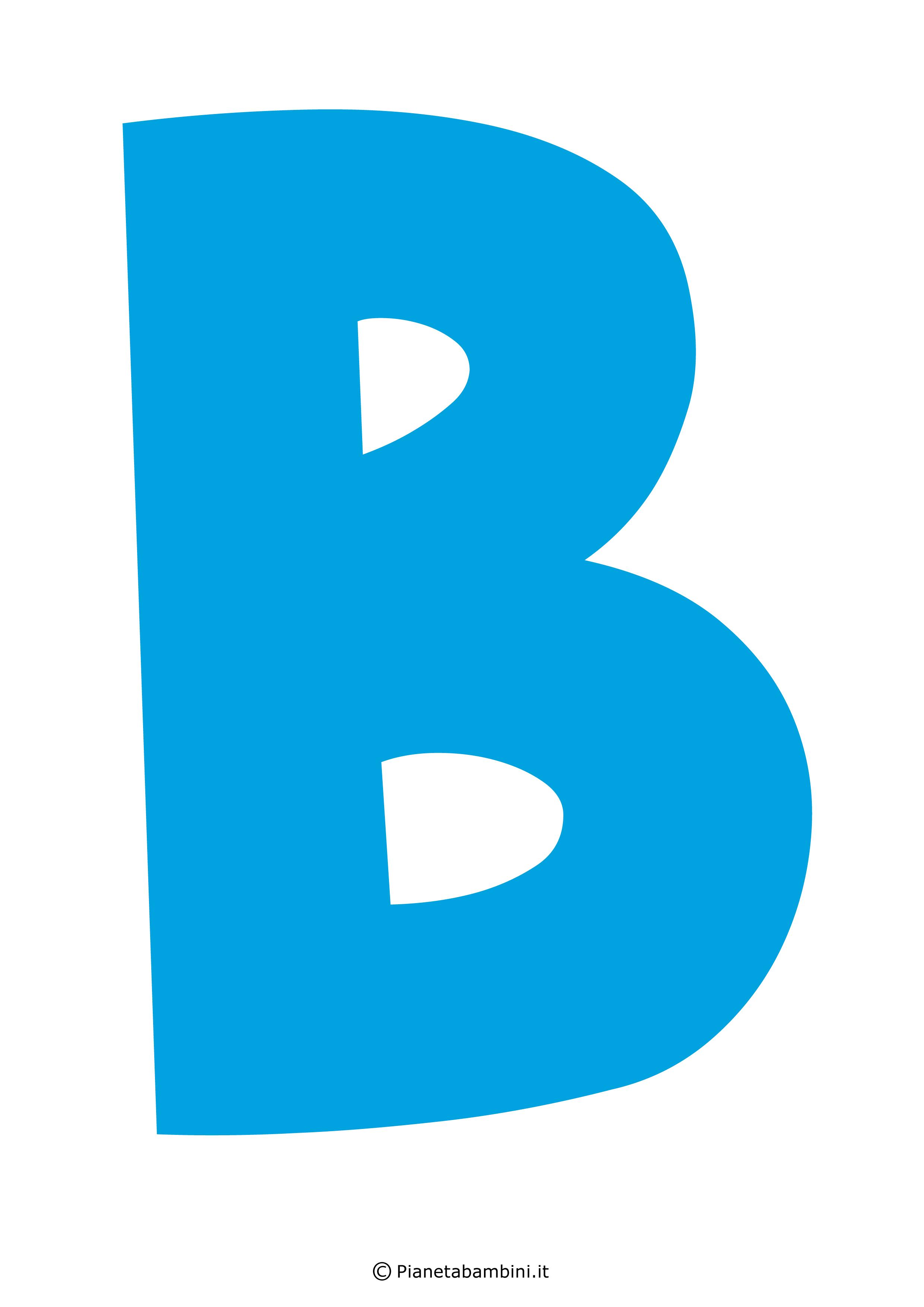 Lettera-B-Azzurra