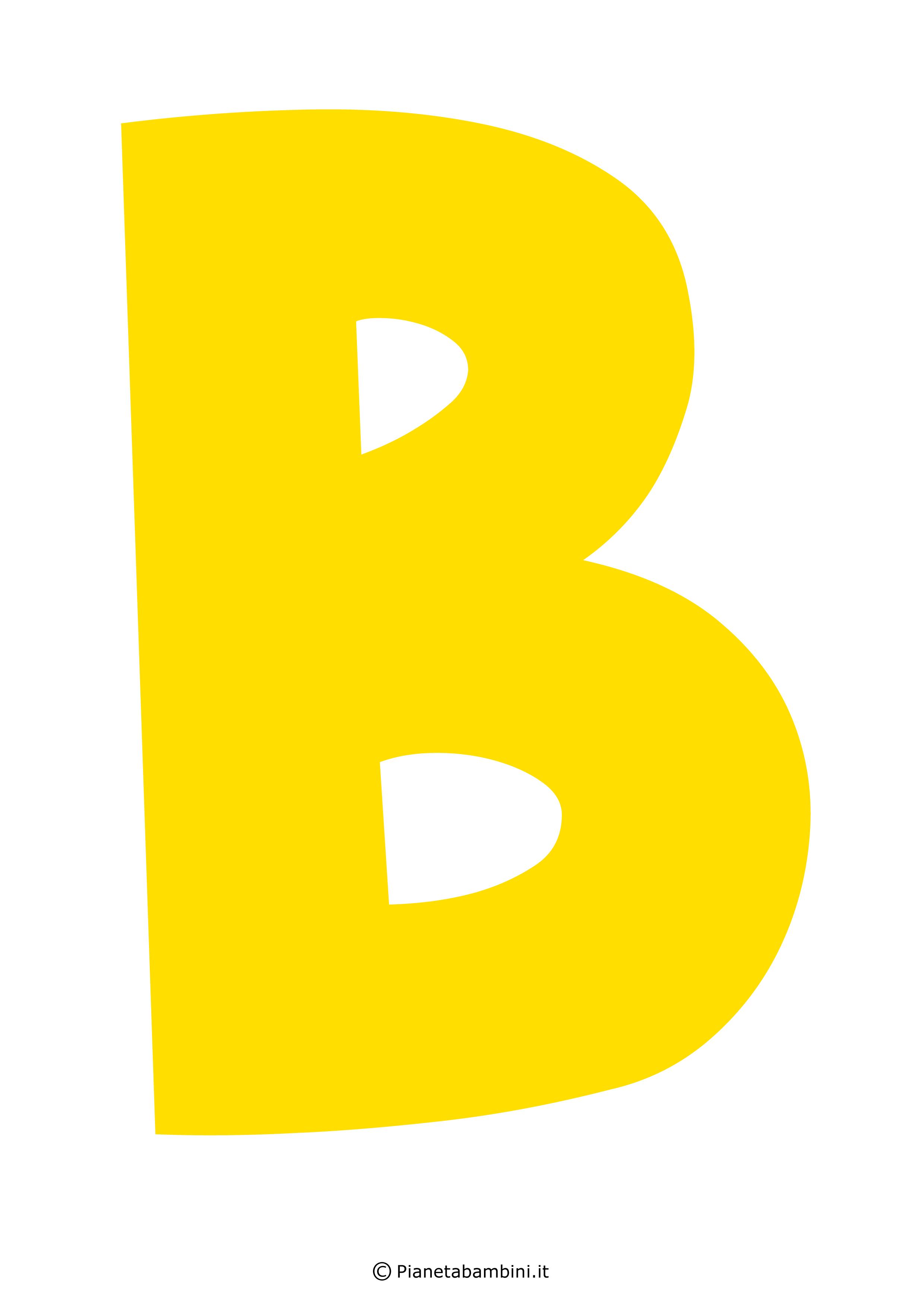 Lettera-B-Gialla