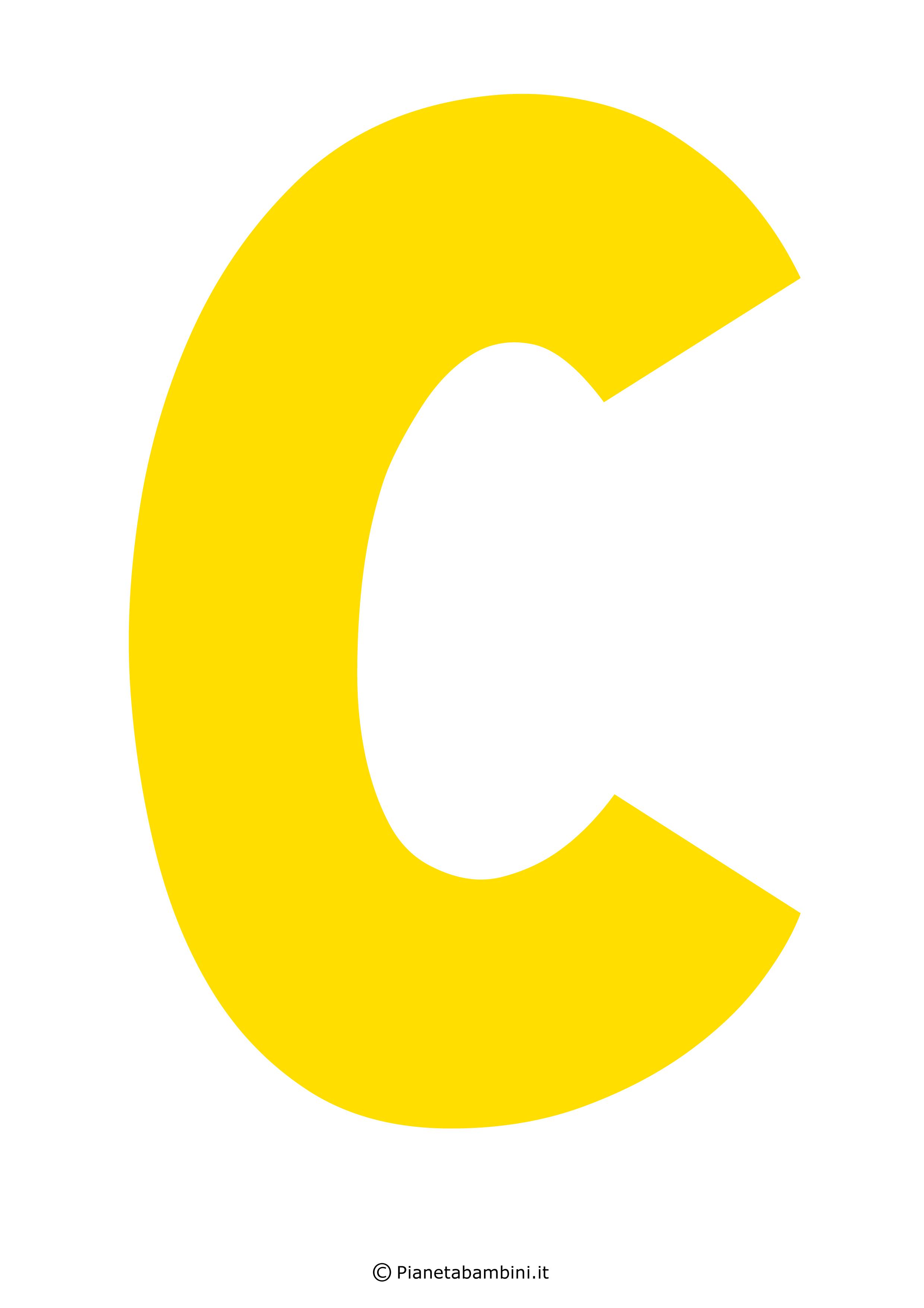 Lettera-C-Gialla