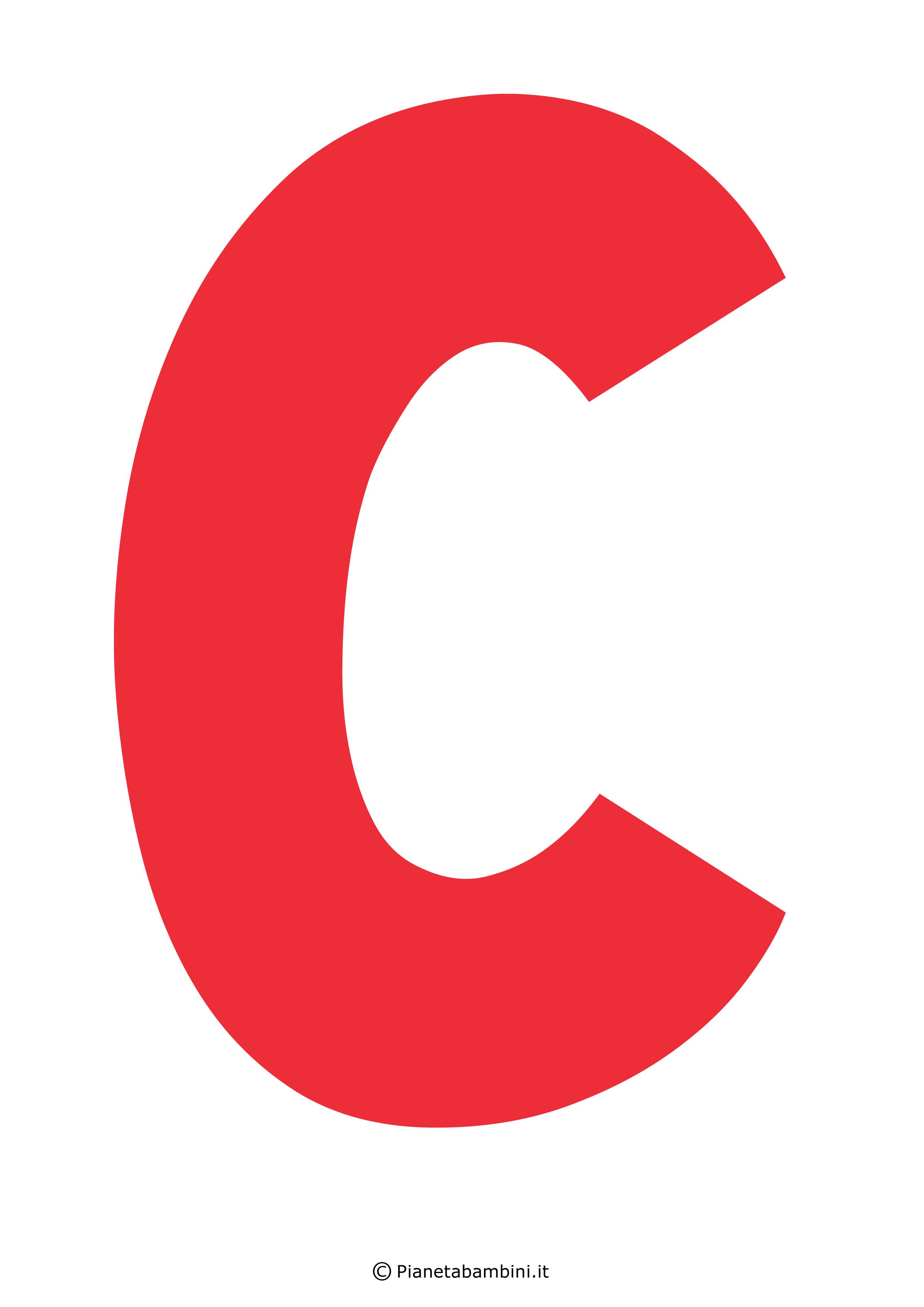 Lettera-C-Rossa