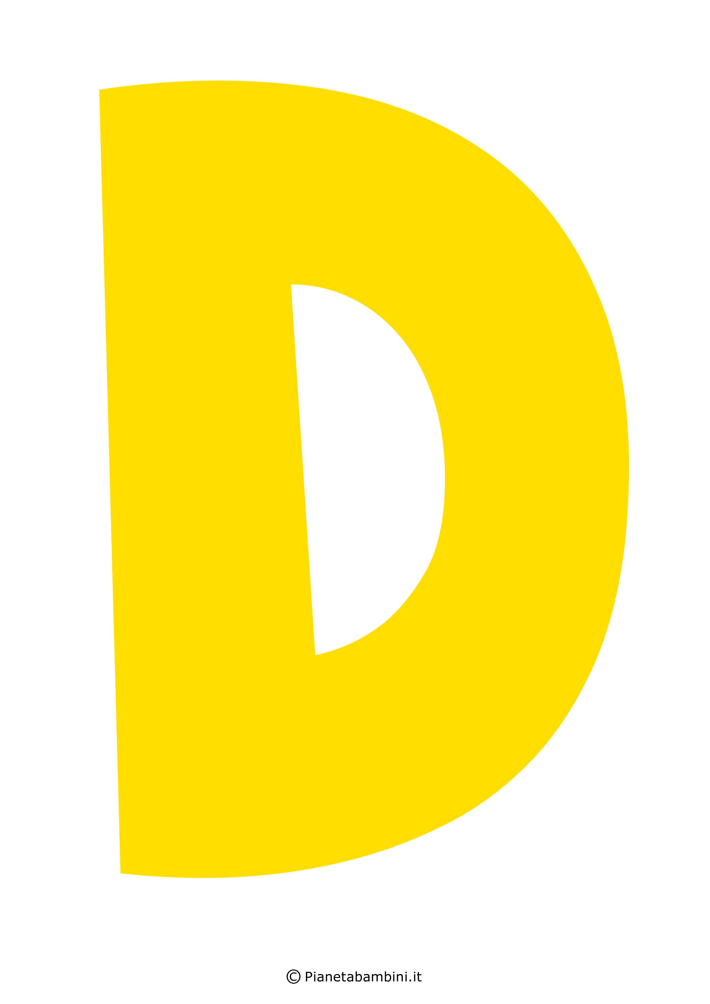 Lettera-D-Gialla