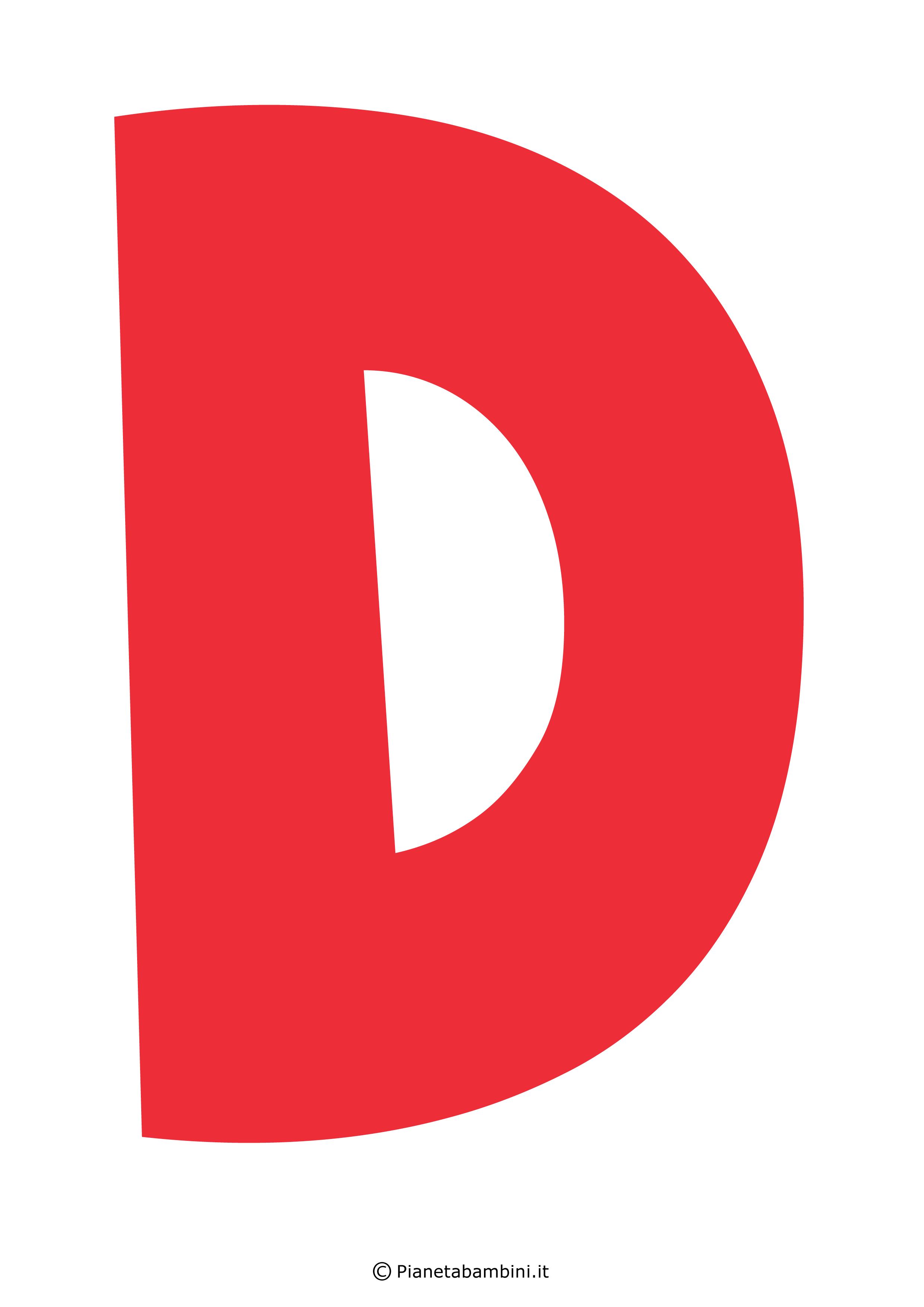 Lettera-D-Rossa