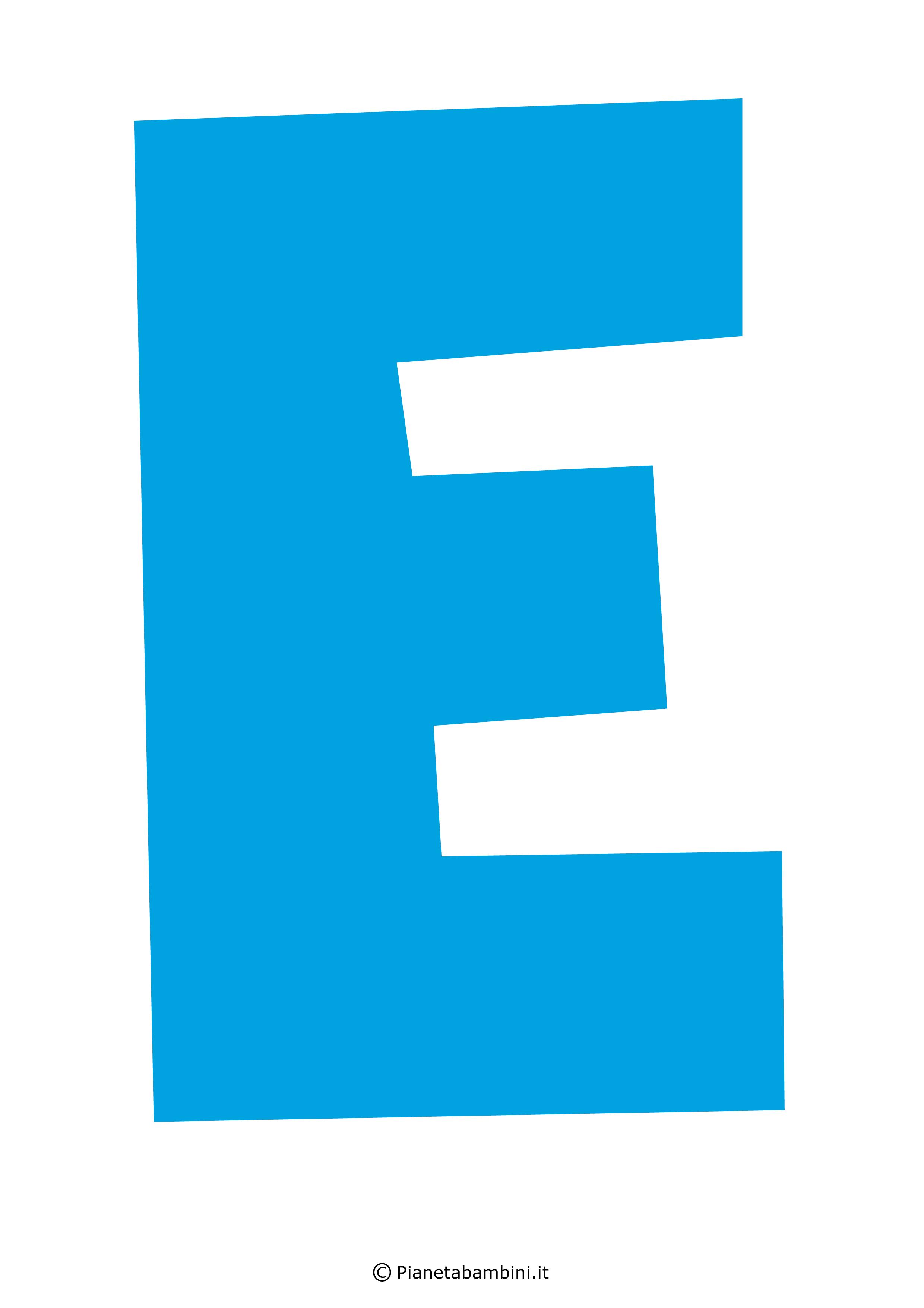 Lettera-E-Azzurra