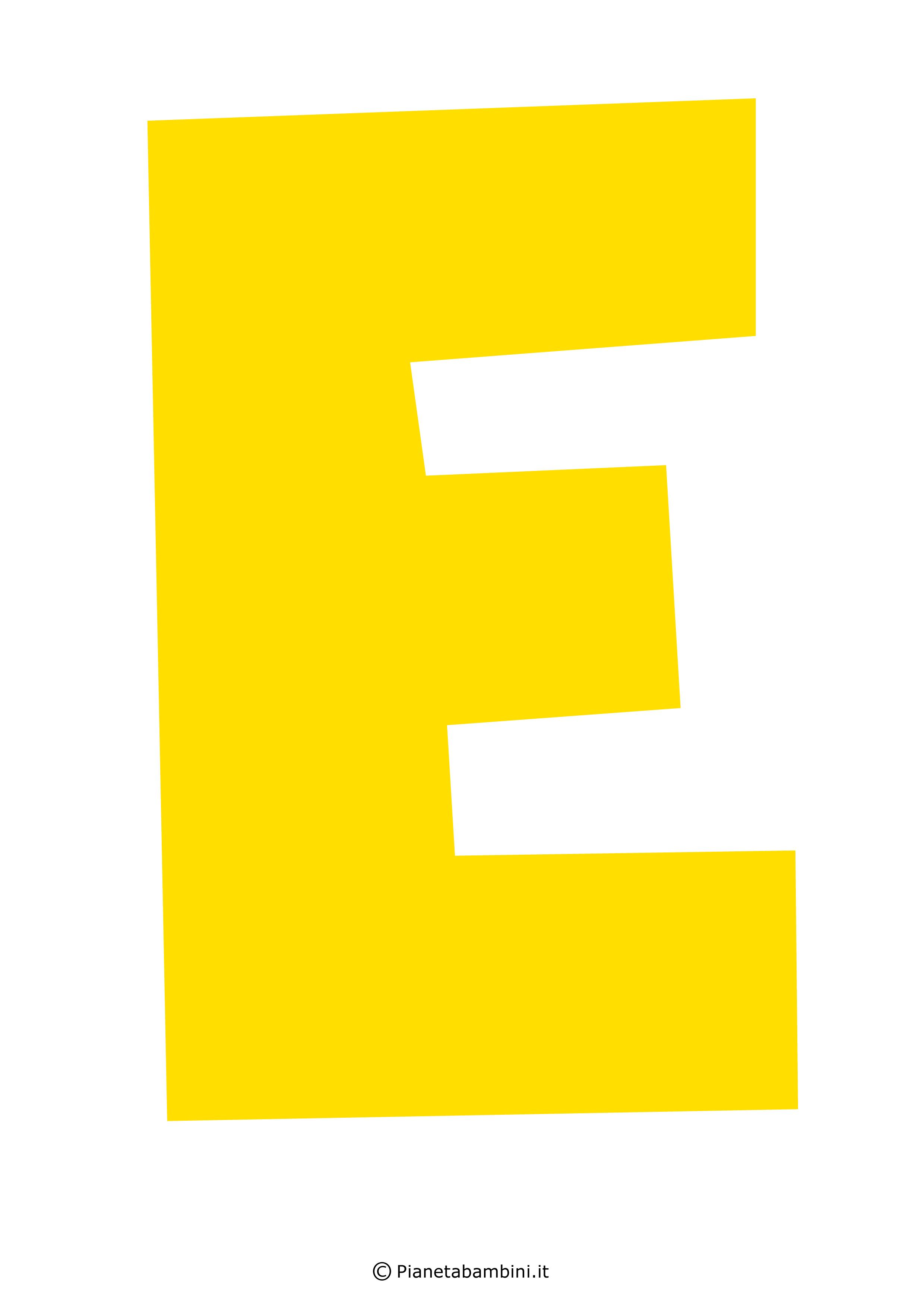 Lettera-E-Gialla