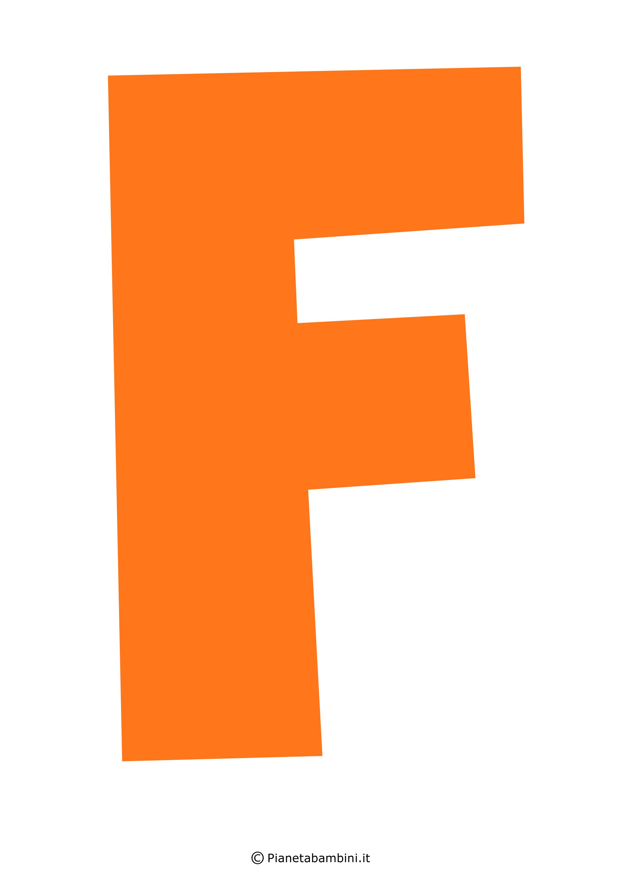 Lettera-F-Arancione