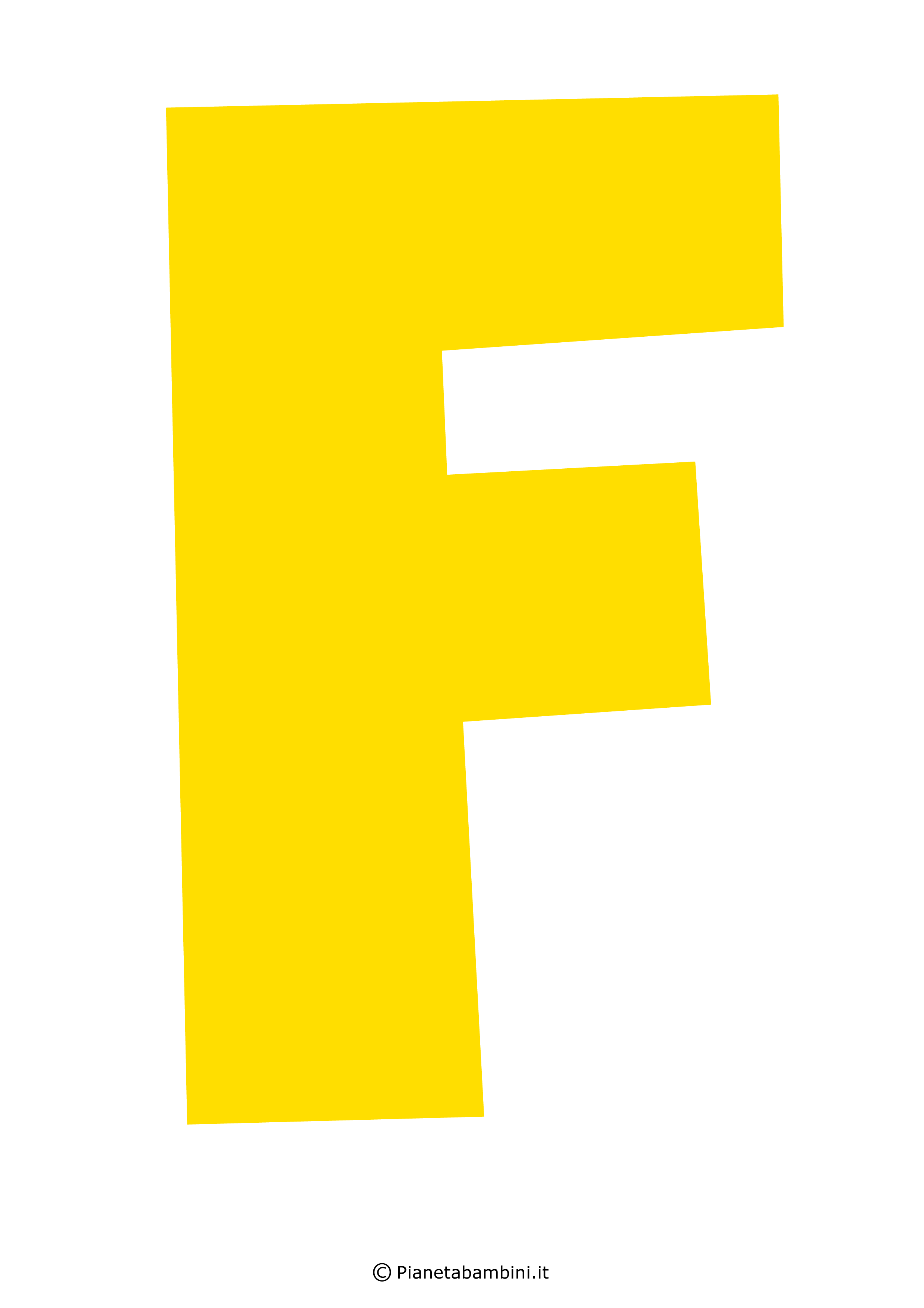 Lettera-F-Gialla